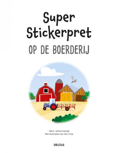 Super Stickerpret – Op de boerderij Kinderstickers