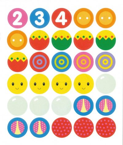 Superleuk kleur- en stickerboek voor de allerkleinsten 2-4 jaar Kinderstickers