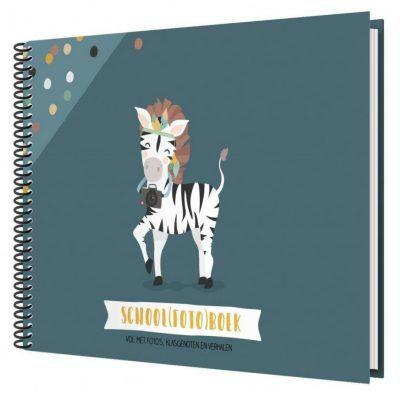 Tante Kaartje Schoolfotoboek – Blauw Schoolfotoboek