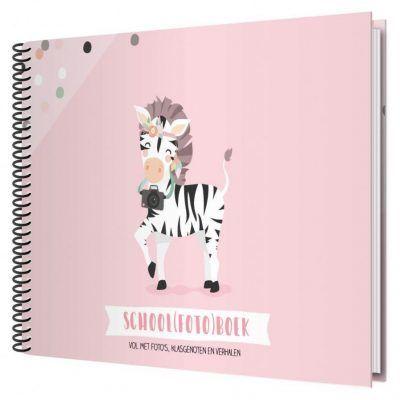 Tante Kaartje Schoolfotoboek – Roze Schoolfotoboek