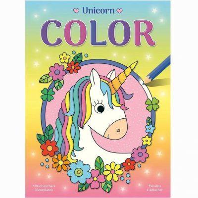 Unicorn Color kleurblok Eenhoorn boek