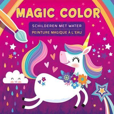 Unicorn Magic Color schilderen met water – Kleurboek Eenhoorn boek