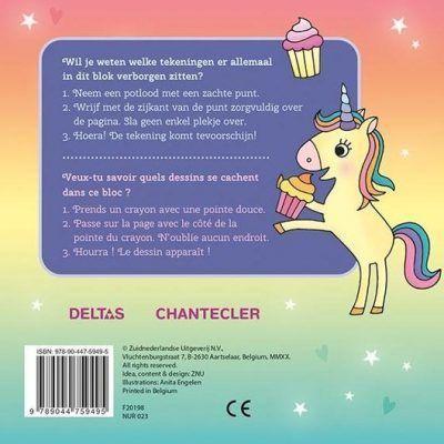 Unicorn Super Magic Toverkrasblok Kleurboeken voor kinderen