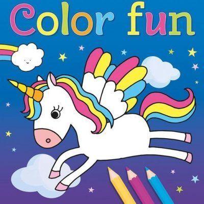 Unicorns Color Fun kleurboek Kleurboeken voor kinderen