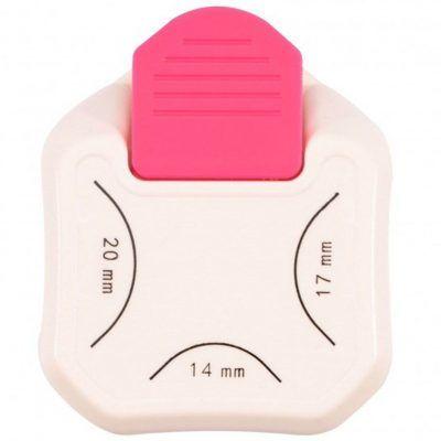 Vaessen Creative 3 in 1 Hoekpons 14-17-20mm Figuurponsen