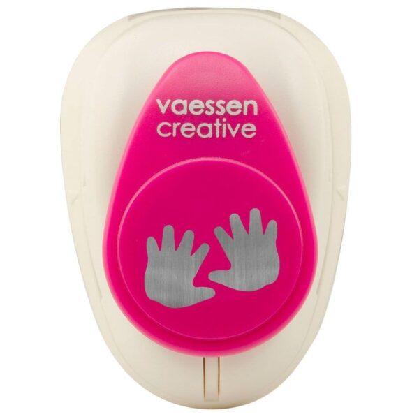 Vaessen Creative Figuurpons baby handjes medium Figuurponsen