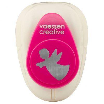 Vaessen Creative Figuurpons engel medium Figuurponsen