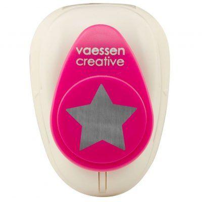 Vaessen Creative Figuurpons ster medium Figuurponsen