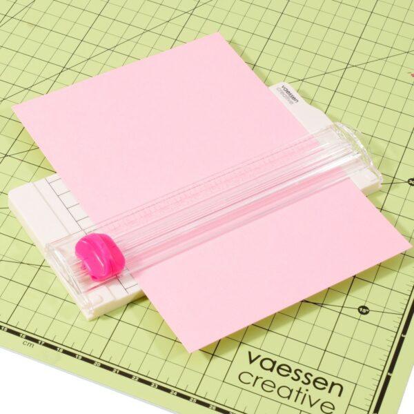 Vaessen Creative Mini papiersnijder 6,5×15,3cm Papiersnijders