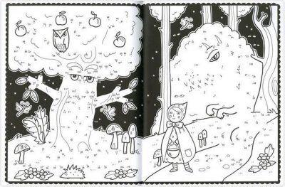 Van punt tot punt kleur- en tekenplezier Leeuw tekenboek Kleurboek dieren