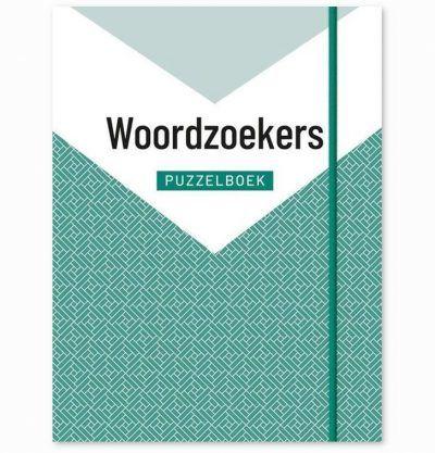 Woordzoekers Puzzelboek – Groen Woordzoekers