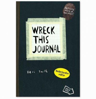 Wreck this journal Dagboek voor jongens