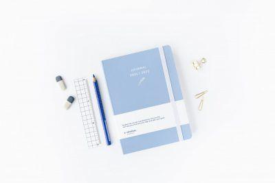 A-Journal Schoolagenda 2021/2022 – Lavendel blauw Schoolagenda