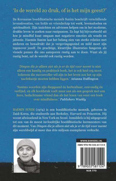 De dingen die je alleen ziet als je er de tijd voor neemt – Haemin Sunim Bestseller boeken