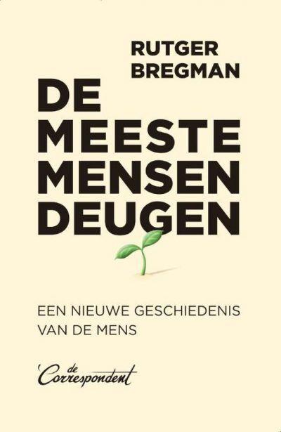 De meeste mensen deugen – Rutger Bregman Bestseller boeken