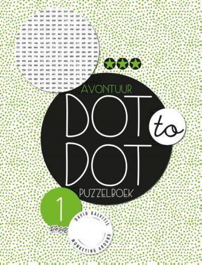 Dot to dot puzzelboek Avontuur deel 1 Kleurboeken