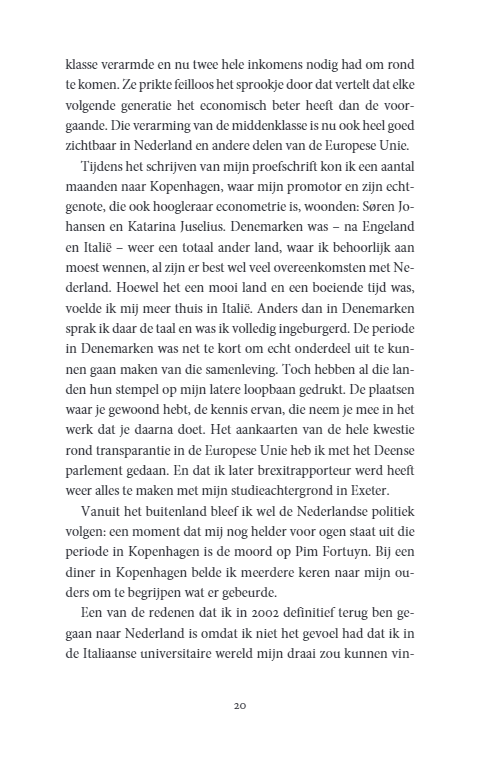 Een nieuw sociaal contract – Pieter Omtzigt Bestseller boeken