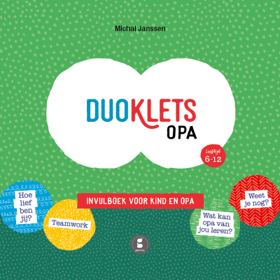 Gezinnig Invulboek Duoklets opa Cadeauboeken tot 15,-