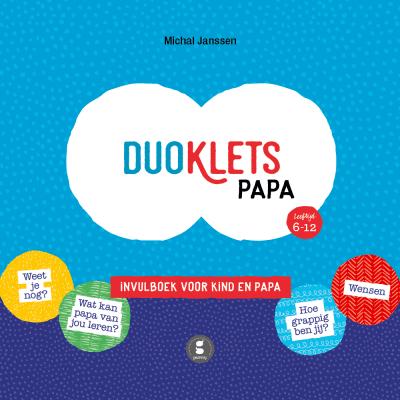 Gezinnig Invulboek Duoklets papa Cadeauboeken tot 15,-