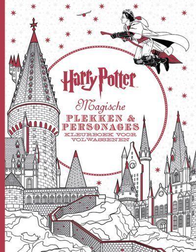 Harry Potter, magische plekken en personages kleurboek Kleurboek voor volwassenen