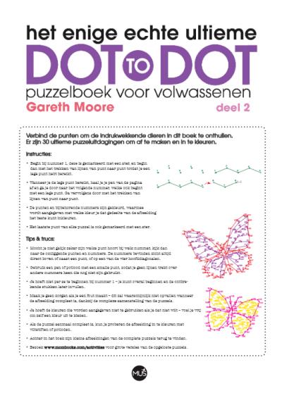 Het enige echte ultieme dot-to-dot deel 2 puzzelboek Kleurboeken