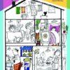 Het grote kleurboek van Fiep Westendorp Dino kleurboek