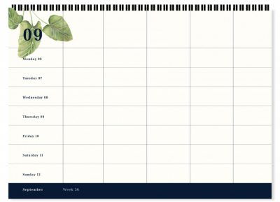 &INK 16 Maanden Familieplanner 2021/2022 – Jungle Familie kalender