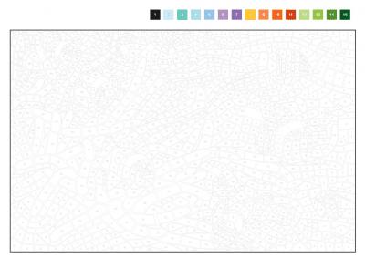 Kleuren op nummer 2 Kleurboek op nummer