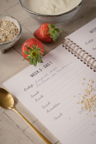 Lifestyle2Love Voedingsplanner Dieetboek