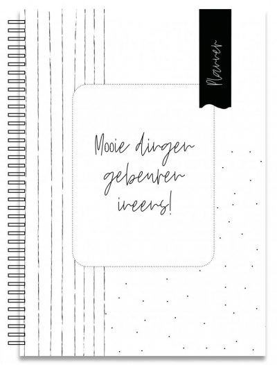 Creations of Happiness Notitieboek weekplanner – A5 Weekplanner