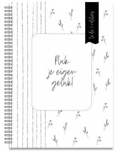 Creations of Happiness Werkplanner Things to do – A5 Notitieboek van A5 formaat