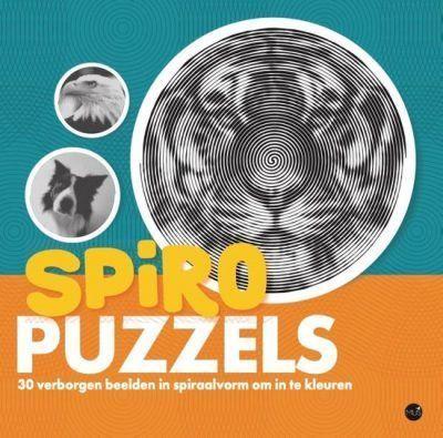 Spiropuzzels kleurboek Kleurboek voor volwassenen