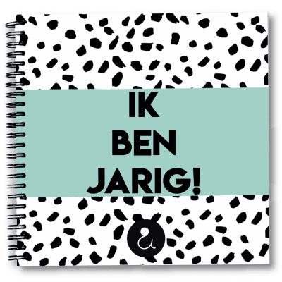 Studio Ins & Outs Verjaardagsboek Mint Cadeauboeken