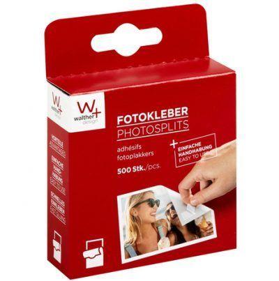Walther Fotoplakkers 500 stuks Fotoplakkers