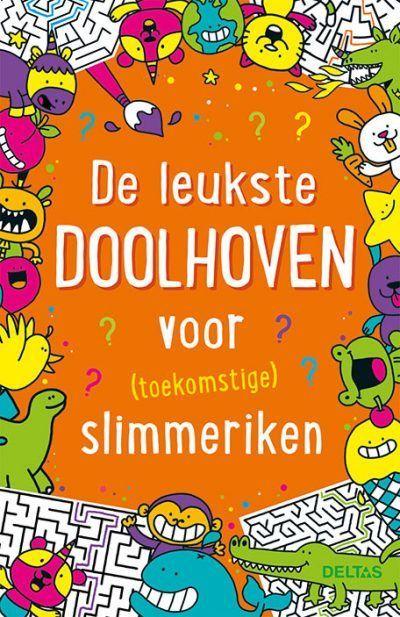 De leukste doolhoven voor (toekomstige) slimmeriken – Puzzelboek Puzzelboek voor kind
