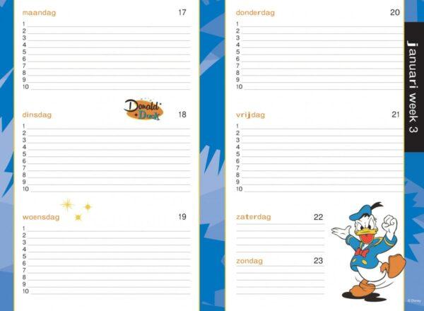 Donald Duck Schoolagenda 2021/2022 Agenda's in de aanbieding
