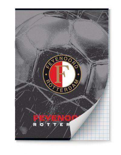 Feyenoord Schriften ruitjes – A4 – Set van 2 stuks Schriften