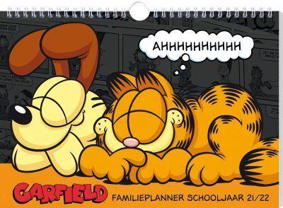 Garfield familieplanner schooljaar 2021-2022 Familie kalender