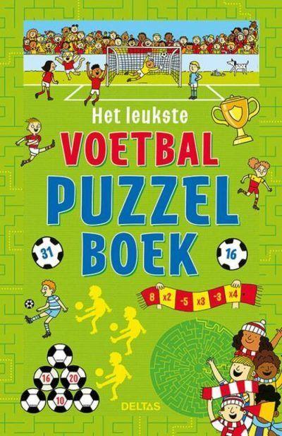 Het leukste voetbal puzzelboek Puzzelboek voor kind