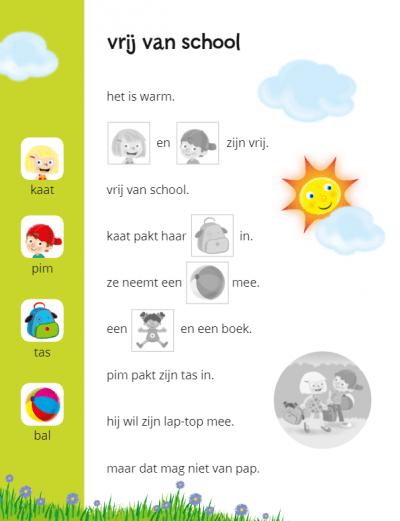 Ik leer lezen Stickerboek – In een tent bij de boer (AVI M3 / AVI 1) Kinderstickers