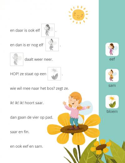 Ik leer lezen Stickerboek – Saar en de boot (AVI M3 / AVI 1) Kinderstickers