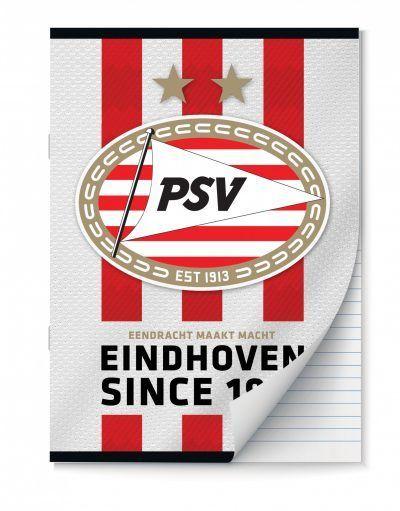 PSV Schriften lijntjes – A4 – Set van 2 stuks Schriften