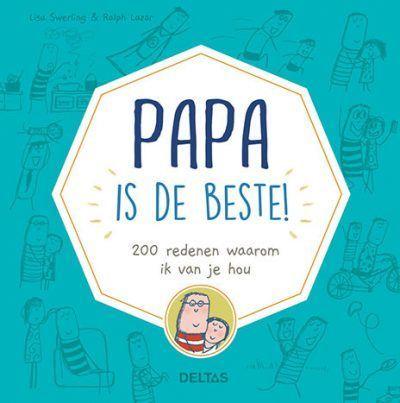 Papa is de beste! Boek vaderdag