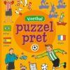 Puzzelpret – Voetbal Puzzelboek voor kind