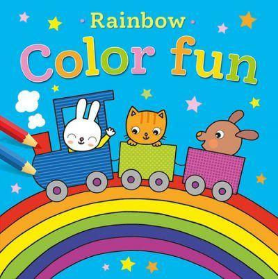Rainbow Color Fun kleurboek Kleurboeken voor jongens