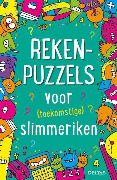 Rekenpuzzels voor (toekomstige) slimmeriken – Puzzelboek Puzzelboek voor kind