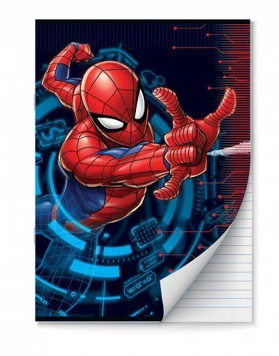 Spiderman Schriften lijntjes – A4 – Set van 2 stuks Schriften