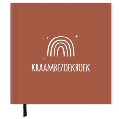 SUS Design Kraambezoekboek – Roest witte regenboog Kraambezoekboek