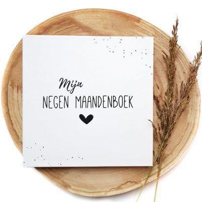 SUS Design Mijn negen maanden – Zwart-wit 9 maanden dagboek