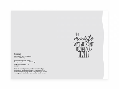 SUS Design Oppasboek – Mint Creche & oppasboek